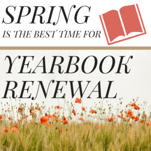 spring yearbook renewal