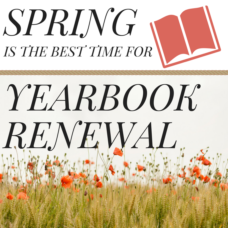 Spring is the Season for Renewal!