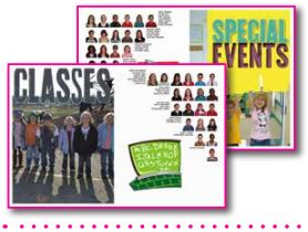 yearbook page layout ideas