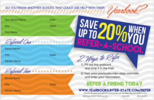 back to school yearbook offer