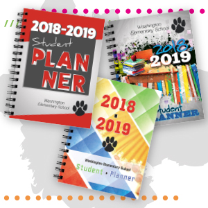 school planner cover design
