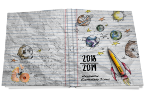 classroom exploration yearbook cover
