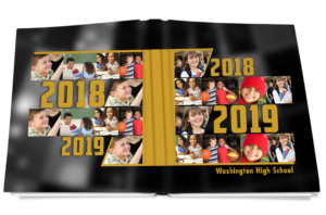 datelines high school yearbook cover