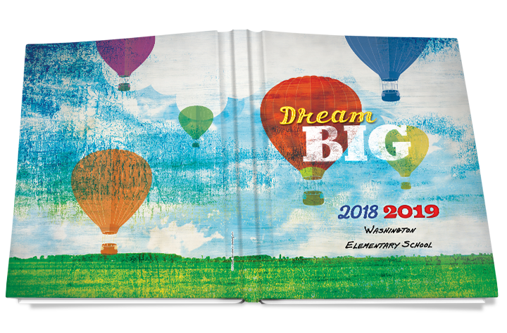 dream big yearbook cover