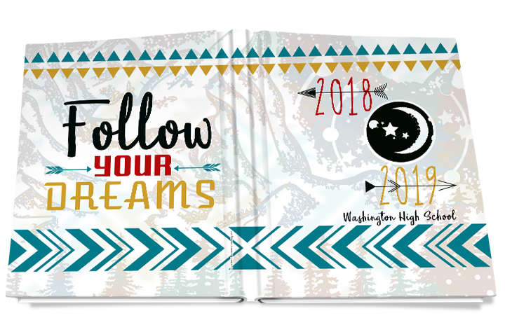 follow your dreams yearbook cover