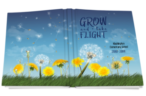 grow take flight yearbook cover