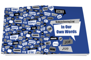 in our own words yearbook cover