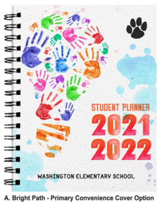 Student Planner Cover Bright Path