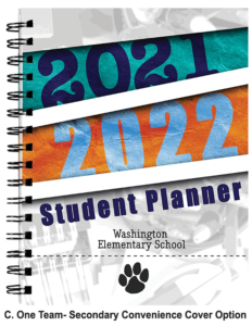 Student Planner Cover- One Team